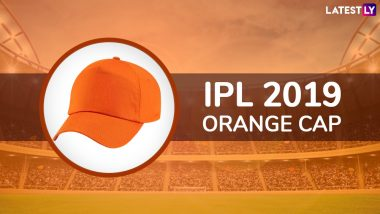 IPL 2019 Orange Cap Winner Updated: Virat Kohli, Andre Russell Move to Third and Fourth Spot on the Most Runs List; David Warner Continues to Lead